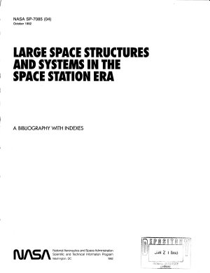 Large Space Structures   Systems in the Space Station Era PDF