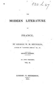 The Modern Literature of France     Second Edition PDF