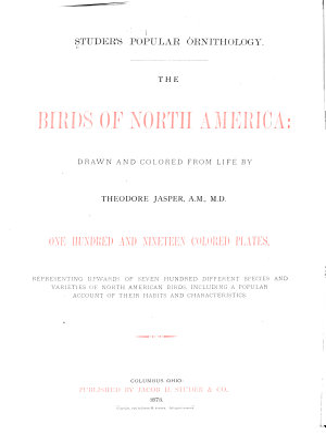 Studer s Popular Ornithology     PDF