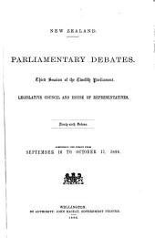 Parliamentary Debates: Volume 96