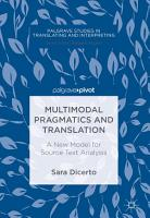 Multimodal Pragmatics and Translation PDF