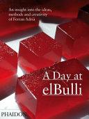 A Day at elBulli Book
