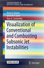 Visualization of Conventional and Combusting Subsonic Jet Instabilities