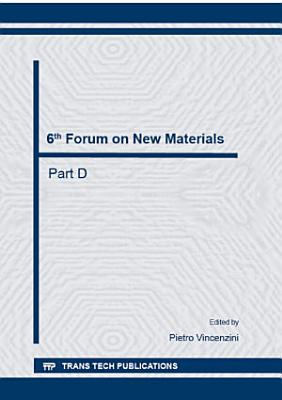 6th Forum on New Materials -