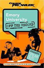 Emory University College Prowler Off the Record