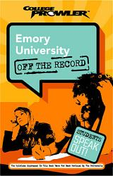 Emory University College Prowler Off The Record Book PDF