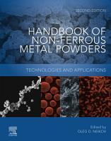 Handbook of Non Ferrous Metal Powders PDF