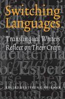 Switching Languages PDF