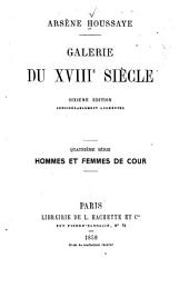 Galerie du XVIIIe siècle: Volume4
