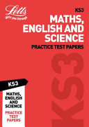 KS3 Maths  English and Science Practice Test Papers