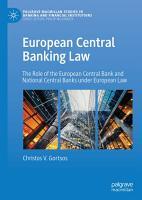 European Central Banking Law PDF