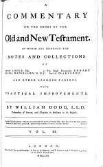 A Commentary on the Books of the Old and New Testament
