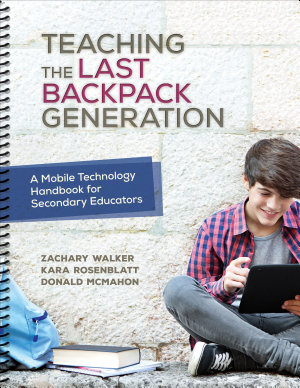 Teaching the Last Backpack Generation PDF