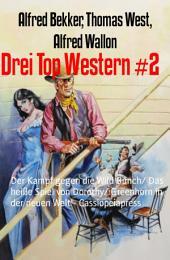 Drei Top Western #2: Der Kampf gegen die Wild Bunch/ Das heiße Spiel von Dorothy/ Greenhorn in der neuen Welt