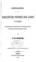 Sephardim PDF