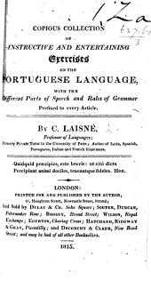 A copious collection of ... exercises on the Portuguese Language, etc