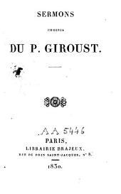 Sermons choisis du P. Giroust