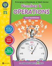 Number & Operations - Drill Sheets Gr. 3-5