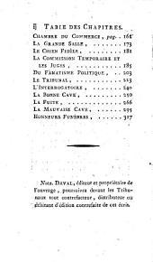 Tableau des prisons de Lyon, pour servir à l'histoire de la tyrannie de 1792 et 1793 par A.-F. Delandine