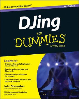 DJing For Dummies PDF