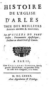 Histoire de l'Eglise D'Arles