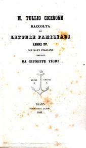 Raccolta di lettere familiari: libri IV.