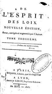 Oeuvres de Montesquieu: Volume3