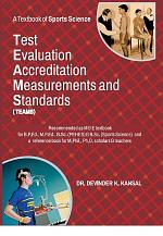 A Textbook of Sports Science : TEST, EVALUATION, ACCREDITATION, MEASUREMENTS And STANDARDS ( TEAMS )
