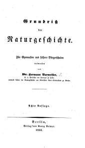 Grundriss der Naturgeschichte, etc