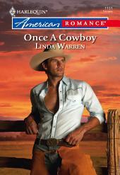 Once a Cowboy