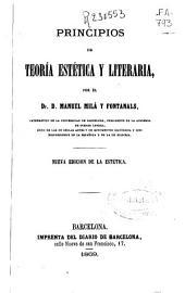 Principios de teoría estética y literaria