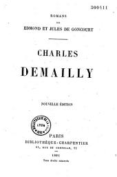 Charles Demailly: roman