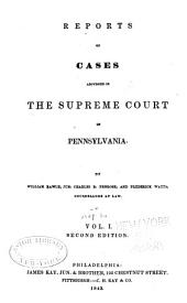Reports of Cases Adjudged in the Supreme Court of Pennsylvania: Volume 24