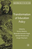 Transformation of Education Policy PDF