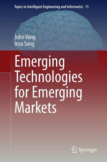 Emerging Technologies for Emerging Markets PDF