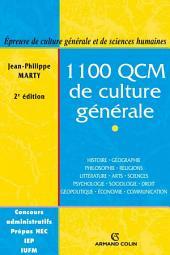 1100 QCM de culture générale: Catégories A et B