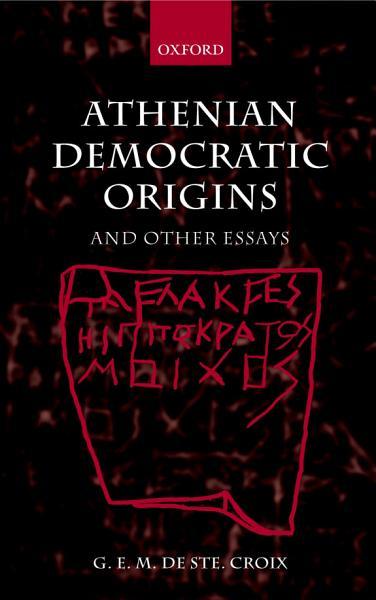 Download Athenian Democratic Origins Book