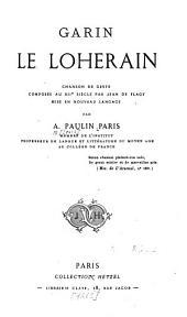 Garin le Loherain: chanson de geste