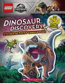Dinosaur Discovery  Lego Jurassic World  Sticker Activity Book