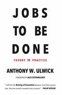 Jobs to Be Done PDF