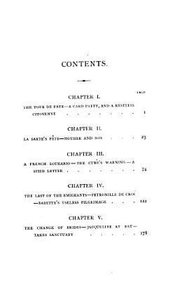 Citoyenne Jacqueline  by Sarah Tytler PDF