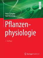 Pflanzenphysiologie PDF