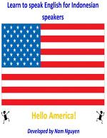 Learn to Speak English for Indonesian Speakers