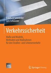 Verkehrssicherheit: Maße und Modelle, Methoden und Maßnahmen für den Straßen- und Schienenverkehr