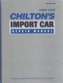 Import Car Repair Manual, 1993-1997