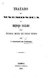 Tratado de Mnemonica, ou Methodo facilimo para decorar muito em pouco tempo