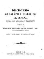 Diccionario geografico-historico de Espana por la Real Academia de la historia: Volumen 3