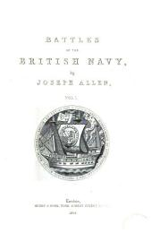 Battles of the British Navy: Volume 1