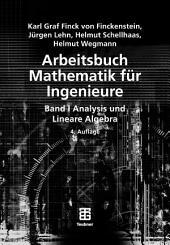 Arbeitsbuch Mathematik für Ingenieure, Band I: Analysis und Lineare Algebra, Ausgabe 4