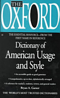 The Oxford Dictionary of American Usage and Style PDF